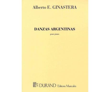 Alberto E. Ginastera: Danzas Argentinas pour Piano