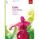 Cello Exam Pieces ABRSM Grade 1 2020-2023 (Score & Part)
