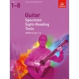 Guitar Specimen Sight-Reading Tests ABRSM Grades 1-8