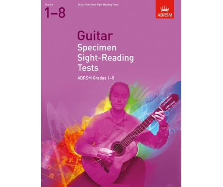 Guitar Specimen Sight-Reading Tests ABRSM Grades 1-8