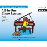 Hal Leonard Student Piano Library All-In-One Piano Lessons Book B (with Audio and MIDI Access)
