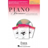 Piano Adventures Background Accompaniments Level 1