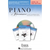 Piano Adventures Background Accompaniments Level 2A
