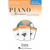 Piano Adventures Background Accompaniments Level 2B