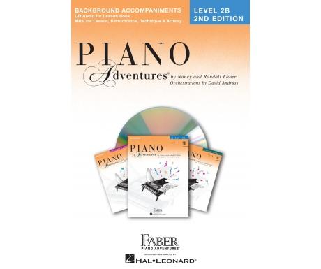 Piano Adventures Background Accompaniments Level 2B
