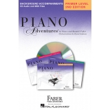 Piano Adventures Background Accompaniments Primer Level