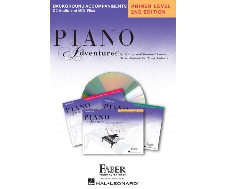 Piano Adventures Background Accompaniments Primer Level