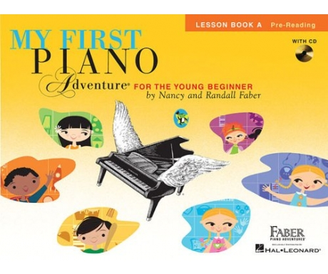 My First Piano Adventure Lesson Book A (with CD)