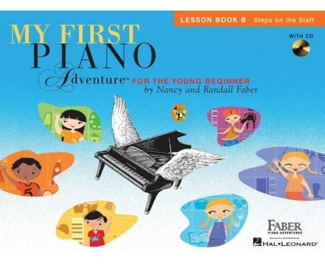 My First Piano Adventure Lesson Book B (with CD)