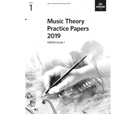 Music Theory Practice Papers 2019 ABRSM Grade 1