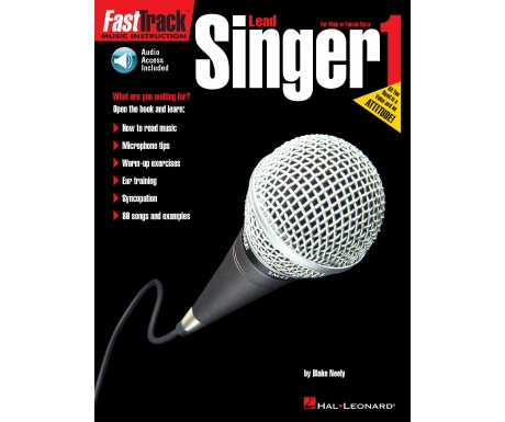 FastTrack Music Instruction Lead Singer 1 (with Audio Access)