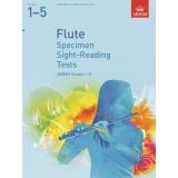 Flute Specimen Sight-Reading Tests ABRSM Grades 1-5