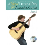 A New Tune a Day for Acoustic Guitar Book 1 (with CD)