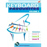 Keyboard Favourites Volume 2 (Elementary Grades 1-3 with CD)