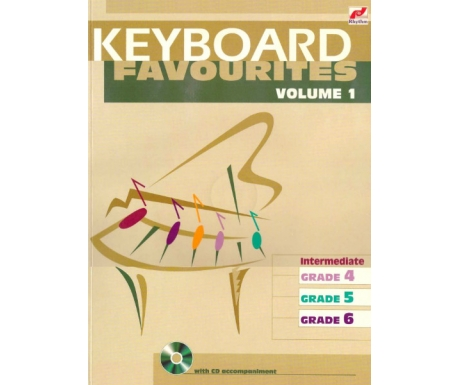 Keyboard Favourites Volume 1 (Intermediate Grades 4-6 with CD)