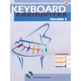Keyboard Favourites Volume 2 (Intermediate Grades 4-6 with CD)