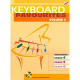Keyboard Favourites Volume 3 (Intermediate Grades 4-6 with CD)