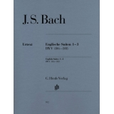 J. S. Bach: Englische Suiten 1-3 BWV 806-808 (English Suites 1-3 BWV 806-808)