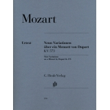 Mozart: Neun Variationen über ein Menuett von Duport KV 573 (Nine Variations on a Minuet by Duport K. 573)