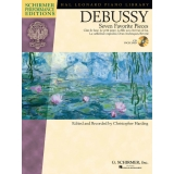 Debussy: Seven Favorite Pieces (Schirmer Performance Editions with CD)