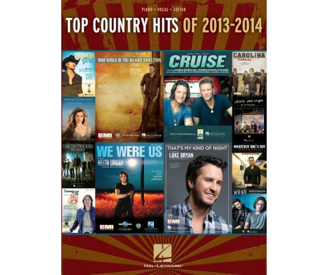 Top Country Hits of 2013-2014 (Piano/Vocal/Guitar)