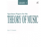 Specimen Papers for the Theory of Music Grade 3