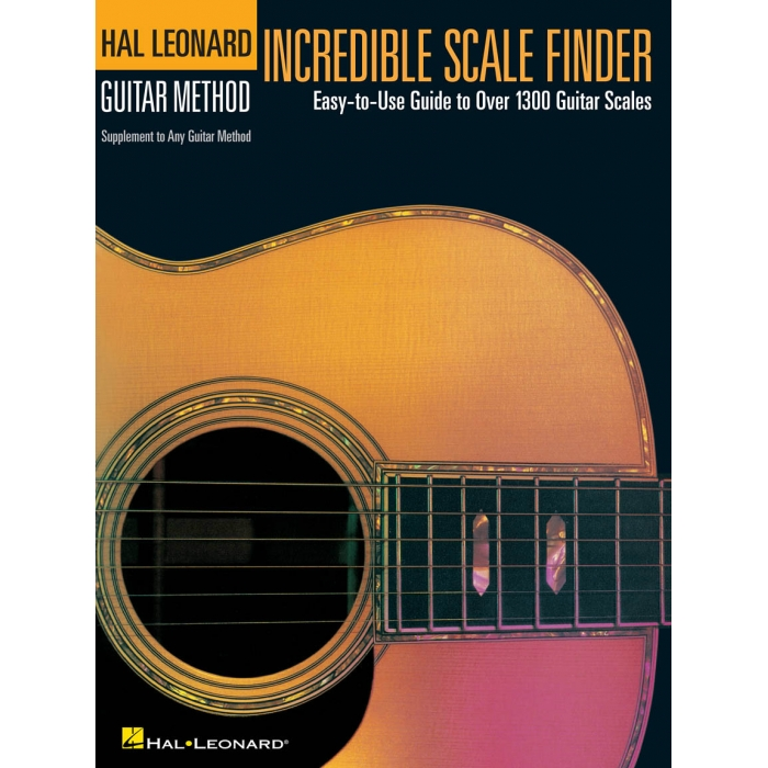 Hal Leonard Guitar Method: Incredible Scale Finder - Easy-to-Use ...