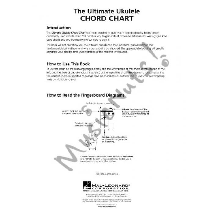 The Ultimate Ukulele Chord Chart