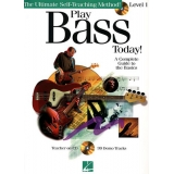 Play Bass Today! Level 1 - A Complete Guide to the Basics (with CD)