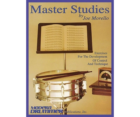 Master Studies - Exercises for the Development of Control and Technique