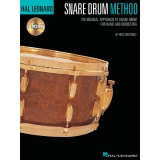 Hal Leonard Snare Drum Method - The Musical Approach to Snare Drum for Band and Orchestra (with CD)