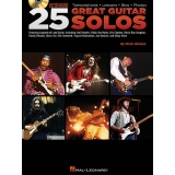 25 Great Guitar Solos (with CD)