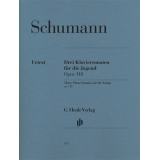 Schumann: Drei Klaviersonaten für die Jugend Opus 118 (Three Piano Sonatas for the Young op. 118)