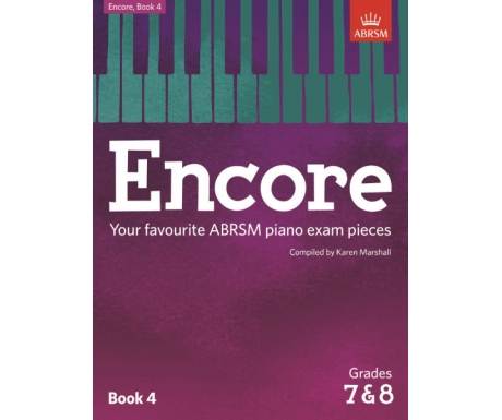 Encore Book 4 (Grades 7&8)