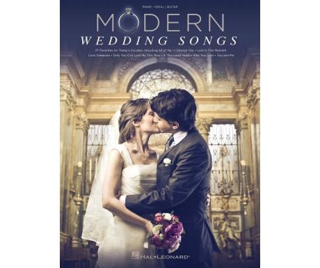 Modern Wedding Songs (Piano/Vocal/Guitar)