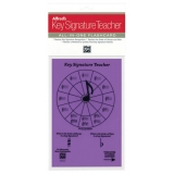 Alfred's Key Signature Teacher All-in-One Flashcard (Purple)