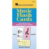 Music Flash Cards - 120 Cards for any Beginning Music Student (Hal Leonard Set A)