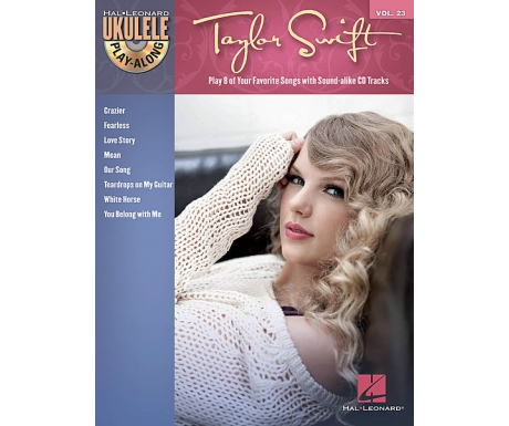 Taylor Swift - Ukulele Play-Along Vol. 23 (with CD)