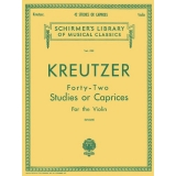 Kreutzer - Forty-Two Studies or Caprices for the Violin
