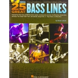 25 Great Bass Lines (with CD)