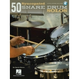 50 Syncopated Snare Drum Solos (with Audio Access)