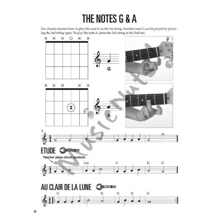 Hal Leonard Guitar Method For Kids Book 1 With Audio Access