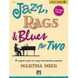 Jazz, Rags & Blues for Two (Duet) Book 1