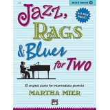 Jazz, Rags & Blues for Two (Duet) Book 2