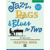 Jazz, Rags & Blues for Two (Duet) Book 3