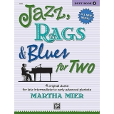 Jazz, Rags & Blues for Two (Duet) Book 4