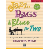 Jazz, Rags & Blues for Two (Duet) Book 5