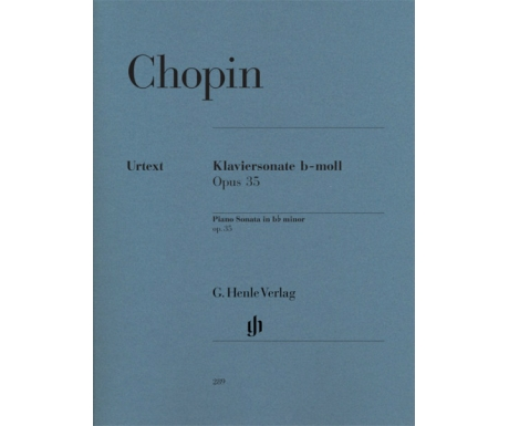 Chopin: Klaviersonate b-moll Opus 35 (Piano Sonata in b♭ minor op. 35)