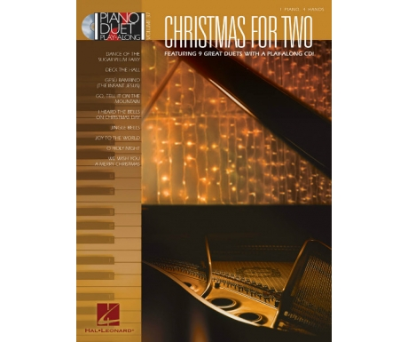 Christmas for Two (Piano Duet Play-Along Volume 37 with CD)