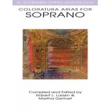 Coloratura Arias for Soprano (G. Schirmer Opera Anthology)